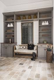 Rustic Mudroom Built Ins - Design photos, ideas and inspiration. Amazing  gallery of interior design and decorating ideas of Rustic Mudroom Built Ins  in ...