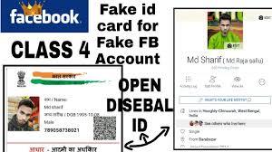 Account के Id लिए - Fake आईडी करने कार्ड For Card Recover अकाउंट Fb नकली Facebook Youtube