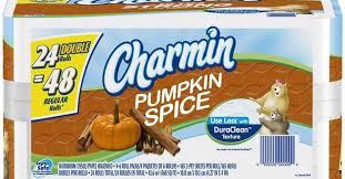 charmin bathroom tissue. The Charmin Brand Has Not Released A Festive Pumpkin Spice Variety Of Bathroom Tissue For Upcoming Fall Season.
