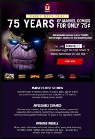 marvel unlimited cyber week one month 75 cents was last modified december 1st 2016 by manny popoca aka mannysplace