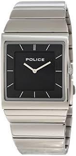 police mens watch skyline m stainless steel bracelet and police mens watch skyline m stainless steel bracelet and black dial