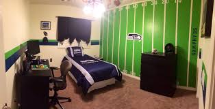 images about isaacs room seattle seahawks and colors on th man seahawks baby nursery decor