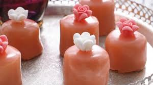 Swedish Strawberry Princess Petits Fours Recipe Good Food