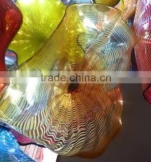 hand blown glass chandelier decoration xo 20160618 modern glass chandelier from famous chinese glass artist