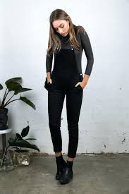 black overalls black overalls booties and turtleneck fall outfit goals black overalls dress womens