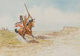Byron Wolfe   The Charge and Death of Roman Nose, War Chief