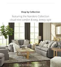 Living room furniture styles Small Sitting Area Nandero Collection Ashley Furniture Homestore Living Room Furniture Ashley Furniture Homestore