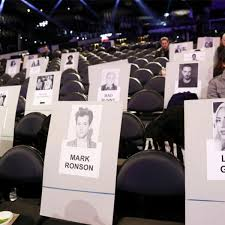 Bts Seating Chart La Grammys Seating Lady Gaga And Katy Perry Up Front Bts Next