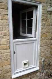 upvc le door ed with cat flap upvc le doors utility room ideas