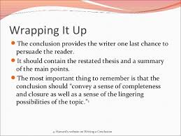 how to write an introduction and closing paragraph conclusion 7