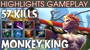 dota 2 monkey king highlights power of new hero with 57 kills ez