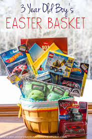 gift basket filler unique my 3 year old boy s easter basket with no candy of