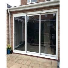 imposing triple sliding glass patio doors wonderful s best 3 panel door wicked home ideas 6
