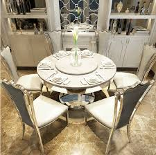 get ations stainless steel marble dining table dinette combination of modern size apartment european round table dining table