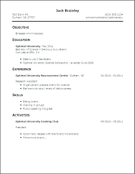 How To Make A Free Resume For First Job Resume Job Description For