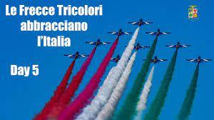 Le Frecce Tricolori abbracciano l'Italia - Day 5 - YouTube