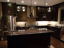 top of cabinet lighting. kitchen dark cabinets with light floors white gloss island granite top gray l shape design beige of cabinet lighting b