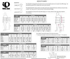Pearl Izumi Mens Pro Barrier Leg Warmer Black Size Chart
