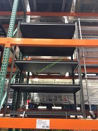 costco 956873 5 shelf storage rack industrial strength