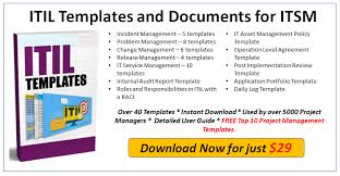 Incident Report Template Major Incident Management Itil Docs