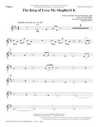 Queen sheet music for violin: John Leavitt The King Of Love My Shepherd Is Violin 1 Sheet Music Pdf Notes Chords Sacred Score Choir Instrumental Pak Download Printable Sku 356388