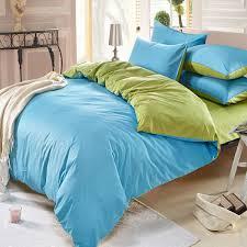 green color assorted bedding sets plain duvet cover sku2060761