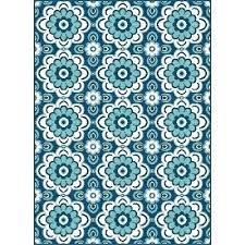 navy outdoor rug 5 x 8 indoor rugs 7 medium fl blue round indo
