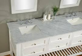 innovative bathroom double vanity tops and j j international 70 pearl white mission double vanity sink
