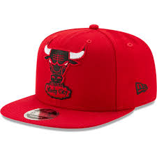 NBA Chicago Bulls Logo Grand New Era Snapback 9FIFTY Hat – Just Sports