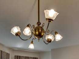 beautiful light fixture in this 1885 queen anne in chicago illinois