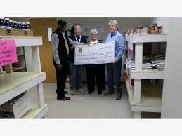 $500 Donation to Food Bank at Milford Senior Center   Milford, CT ...