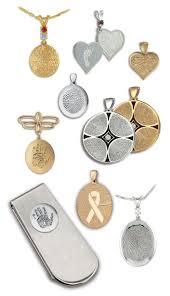jewelry made from fingerprints connects us with a touch cremation solutions