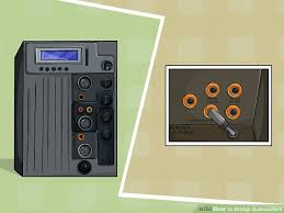 ways to bridge subwoofers wikihow image titled bridge subwoofers step 1