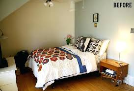 Redecorated Bedroom How To Redesign A Non Square Bedroom West Elm