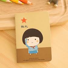 8 of 10 modern 1x time memory cartoon notepad memo diary notebook exercise book top