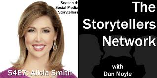S4E7: Alicia Smith, News Anchor @WXYZAlicia (#50) — The Storytellers  Network with Dan Moyle
