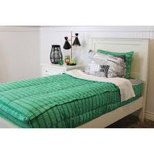 beddy s twin kelly green central park bedding collection