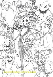 Stupefying Jack Skellington Coloring Page Pages With In Mofassel Me