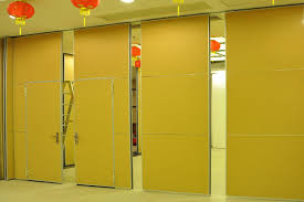 easy installation movable partition