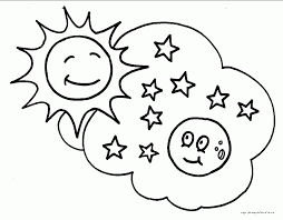 Small Picture adult coloring page moon coloring page moon and stars coloring