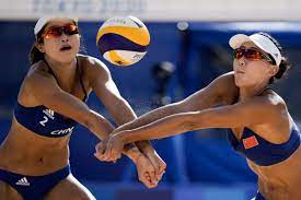 Why do beach volleyball players wear ...