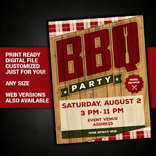 cookout fundraiser flyers bbq picnic summer party flyer barbeque grill cookout party