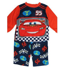 Lighting Mcqueen Pajamas Cars Little Boys Red Lighting Mcqueen Character Print 2 Pc Pajama Set 2t 4t