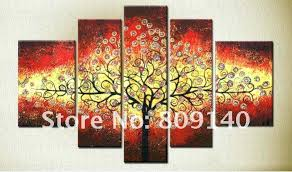 wall paintings for office. Office Wall Art Feng Shui Family Tree Decoration High Quality Handmade Home Paintings For R