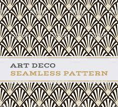great art deco seamless pattern black white and gold colours royaltyfree  stock vector art with deco patterns