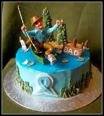 Fishing Cakes For Boys Fish Birthday Cake Surprising 14381600