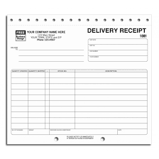 free receipt form preprinted delivery receipt forms free shipping