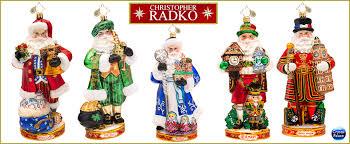 Around the World Radko Ornaments