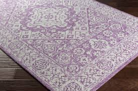 pearson hand hooked bright purple white area rug reviews joss for and rugs idea 16