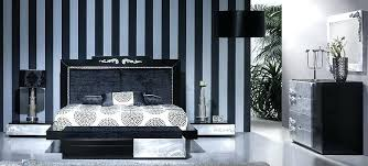 black and silver bedroom furniture. Black And Silver Bedroom Embossed Furniture .